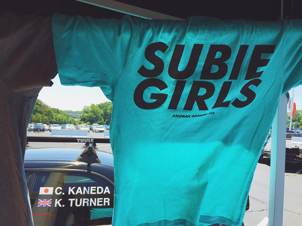 """Subie Girls"" Tee in Turquoise by Anorak Apparel"