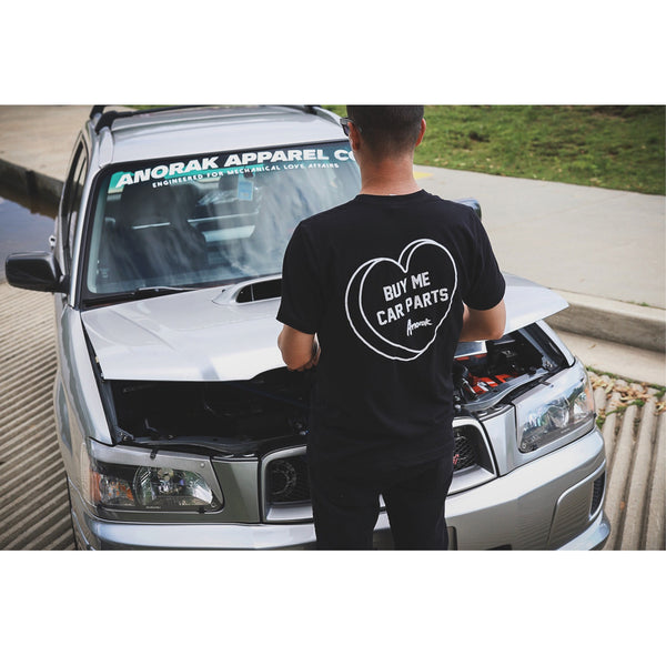 Buy Me Car Parts Car Tee - Anorak Apparel