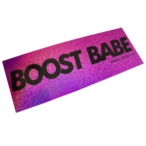 Boost Babe Slap (Holographic Magenta)