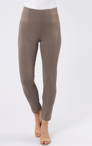 Taupe Straight Pant