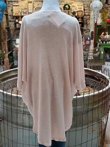 Brushed Hacci Cardigan
