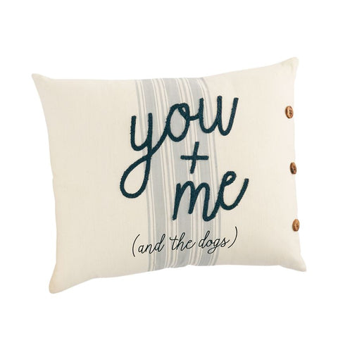 YOU + ME PILLOW