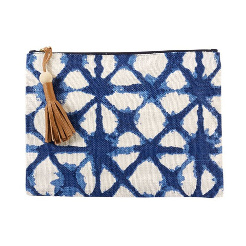 DIAMOND TIE DYE JUTE CASE
