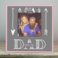 Dad and me Photo Clip Frame Gift