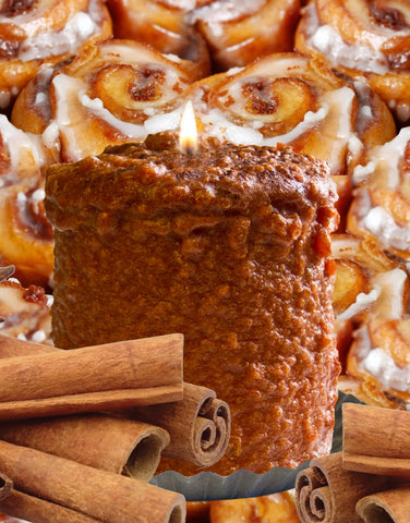 Cinnamon Bun Hearth Candle
