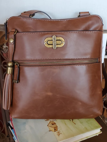 Island Breeze Messenger Brown