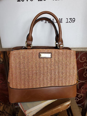 Paradise Raffia Shoulder Bag
