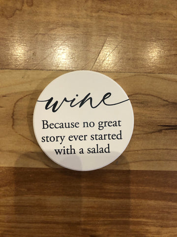 Wine Car Coaster
