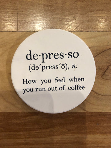 Depresso Car Coaster