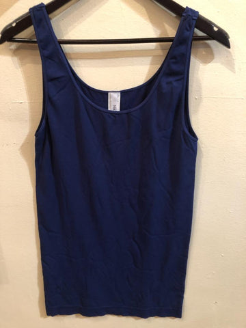 Navy Plus Tank Top