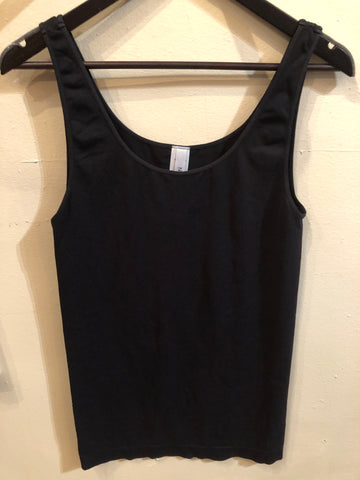 Black Plus Tank Top