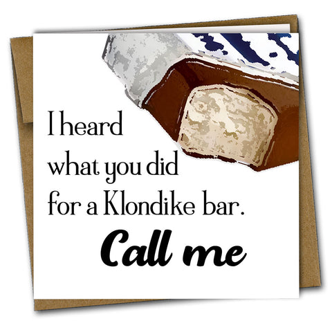 Klondike Bar Drink Coaster