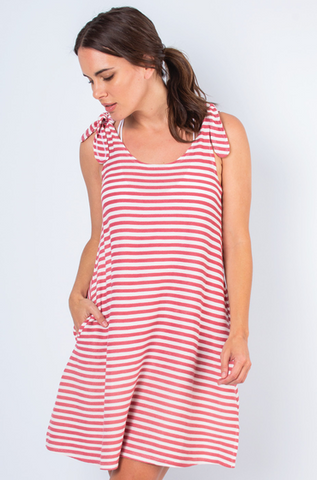 Striped Dress (Carolina, Punch, or White)