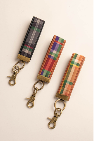 Lumber Plaid Key Clip