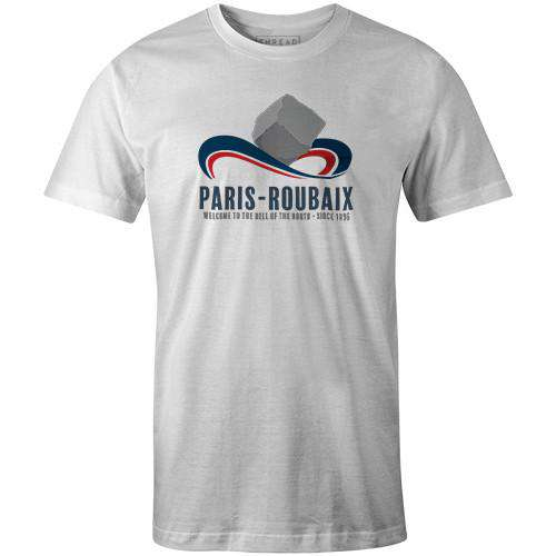 Mounted CobbleBICI - THREAD+SPOKE | MTB APPAREL | ROAD BIKING T-SHIRTS | BICYCLE T SHIRTS |