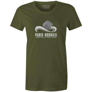 Mounted Cobble Women'sBICI - THREAD+SPOKE | MTB APPAREL | ROAD BIKING T-SHIRTS | BICYCLE T SHIRTS |