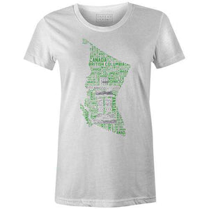 Whistler Canada Women'sJordon Mazziotti - THREAD+SPOKE | MTB APPAREL | ROAD BIKING T-SHIRTS | BICYCLE T SHIRTS |