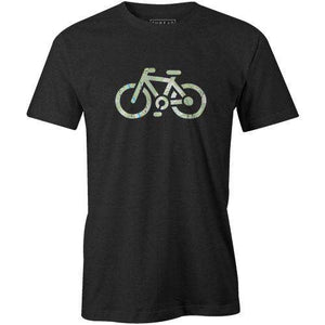 Topographical BikeJordon Mazziotti - THREAD+SPOKE | MTB APPAREL | ROAD BIKING T-SHIRTS | BICYCLE T SHIRTS |