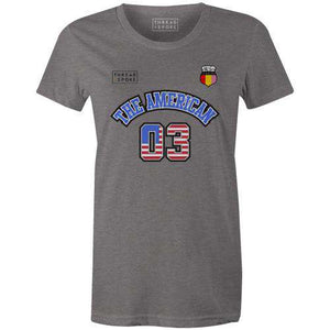 Classic Jersey - The AmericanKimball Henneman - THREAD+SPOKE | MTB APPAREL | ROAD BIKING T-SHIRTS | BICYCLE T SHIRTS |