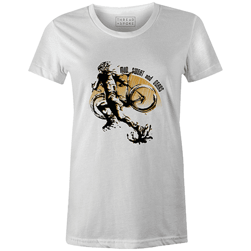 CX Mud, Sweat, and Gears Women'sSassan Filsoof - THREAD+SPOKE | MTB APPAREL | ROAD BIKING T-SHIRTS | BICYCLE T SHIRTS |