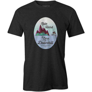 Earn the DownhillThread+Spoke - THREAD+SPOKE | MTB APPAREL | ROAD BIKING T-SHIRTS | BICYCLE T SHIRTS |