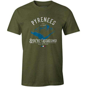 Pyrenees AssassinsThread+Spoke - THREAD+SPOKE | MTB APPAREL | ROAD BIKING T-SHIRTS | BICYCLE T SHIRTS |