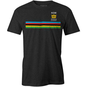 KOM World ChampThread+Spoke - THREAD+SPOKE | MTB APPAREL | ROAD BIKING T-SHIRTS | BICYCLE T SHIRTS |