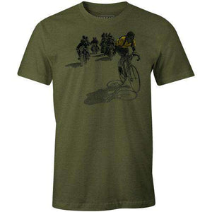 Vintage RacerThread+Spoke - THREAD+SPOKE | MTB APPAREL | ROAD BIKING T-SHIRTS | BICYCLE T SHIRTS |