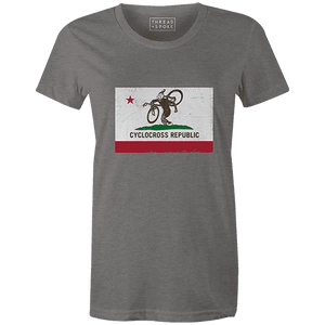 CX Republic Women'sThread+Spoke - THREAD+SPOKE | MTB APPAREL | ROAD BIKING T-SHIRTS | BICYCLE T SHIRTS |