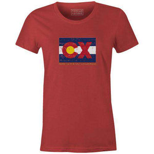 CX Colorado Women'sThread+Spoke - THREAD+SPOKE | MTB APPAREL | ROAD BIKING T-SHIRTS | BICYCLE T SHIRTS |