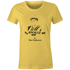The Professor Women'sBICI - THREAD+SPOKE | MTB APPAREL | ROAD BIKING T-SHIRTS | BICYCLE T SHIRTS |
