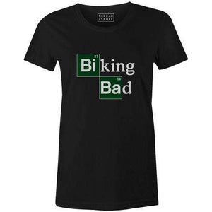 Biking Bad Women'sBoggs Nicolas - THREAD+SPOKE | MTB APPAREL | ROAD BIKING T-SHIRTS | BICYCLE T SHIRTS |