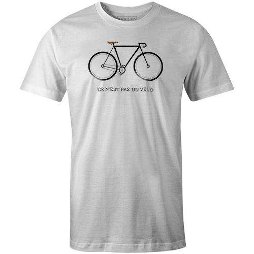 Ce N'est Pas Un VéloMKB - THREAD+SPOKE | MTB APPAREL | ROAD BIKING T-SHIRTS | BICYCLE T SHIRTS |