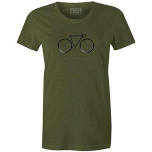 Ce N'est Pas Un Vélo Women'sMKB - THREAD+SPOKE | MTB APPAREL | ROAD BIKING T-SHIRTS | BICYCLE T SHIRTS |