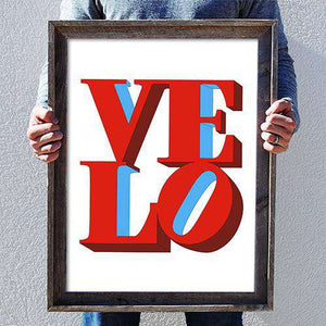 Velo Love PosterKimball Henneman - THREAD+SPOKE | MTB APPAREL | ROAD BIKING T-SHIRTS | BICYCLE T SHIRTS |