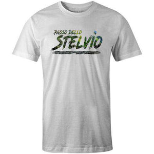 Passo Dello StelvioStrong Cycling - THREAD+SPOKE | MTB APPAREL | ROAD BIKING T-SHIRTS | BICYCLE T SHIRTS |