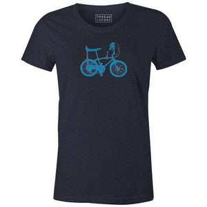 Banana Seat Women'sThread+Spoke - THREAD+SPOKE | MTB APPAREL | ROAD BIKING T-SHIRTS | BICYCLE T SHIRTS |