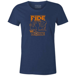 Ride From Home Women'sBoggs Nicolas - THREAD+SPOKE | MTB APPAREL | ROAD BIKING T-SHIRTS | BICYCLE T SHIRTS |