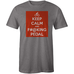 Keep Calm and PedalMile24 - THREAD+SPOKE | MTB APPAREL | ROAD BIKING T-SHIRTS | BICYCLE T SHIRTS |