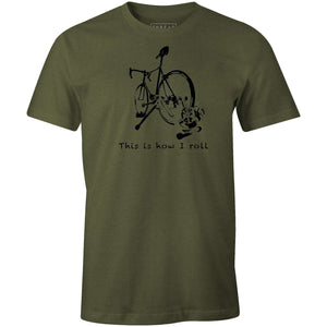 This Is How I RollMile24 - THREAD+SPOKE | MTB APPAREL | ROAD BIKING T-SHIRTS | BICYCLE T SHIRTS |