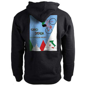 Giro d'Italia Jersey HoodieThread+Spoke - THREAD+SPOKE | MTB APPAREL | ROAD BIKING T-SHIRTS | BICYCLE T SHIRTS |