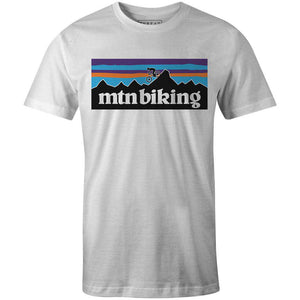 Men's T-shirt - Mtn Biking Patagonia