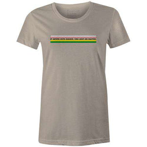 Go Faster Women'sBICI - THREAD+SPOKE | MTB APPAREL | ROAD BIKING T-SHIRTS | BICYCLE T SHIRTS |