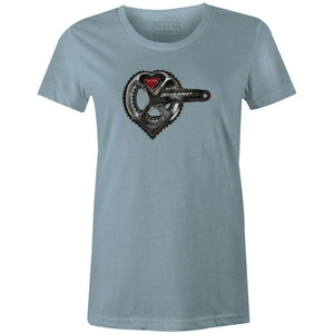 DUYARACE? Women'sA Quiet Bird - THREAD+SPOKE | MTB APPAREL | ROAD BIKING T-SHIRTS | BICYCLE T SHIRTS |