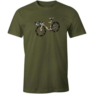 Cookie BikeA Quiet Bird - THREAD+SPOKE | MTB APPAREL | ROAD BIKING T-SHIRTS | BICYCLE T SHIRTS |