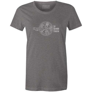 Parisian Crank Women'sReigedesign - THREAD+SPOKE | MTB APPAREL | ROAD BIKING T-SHIRTS | BICYCLE T SHIRTS |