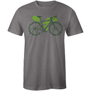 Bike Packing AnatomyReigedesign - THREAD+SPOKE | MTB APPAREL | ROAD BIKING T-SHIRTS | BICYCLE T SHIRTS |