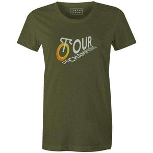 Tour de Champions Women'sSamuel Rauert - THREAD+SPOKE | MTB APPAREL | ROAD BIKING T-SHIRTS | BICYCLE T SHIRTS |
