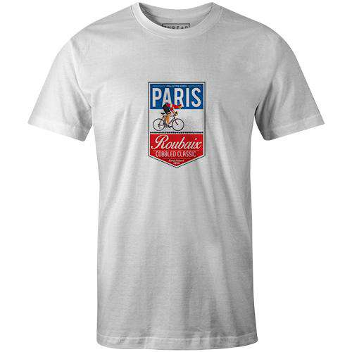 b60408002 ... Men's T-shirt - Paris Roubaix Badge ...