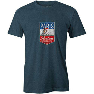Paris Roubaix BadgeThread+Spoke - THREAD+SPOKE | MTB APPAREL | ROAD BIKING T-SHIRTS | BICYCLE T SHIRTS |